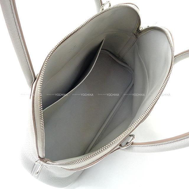 HERMES エルメス ハンドバッグ ボリード31 グリスパール トリヨン SAランク【中古】