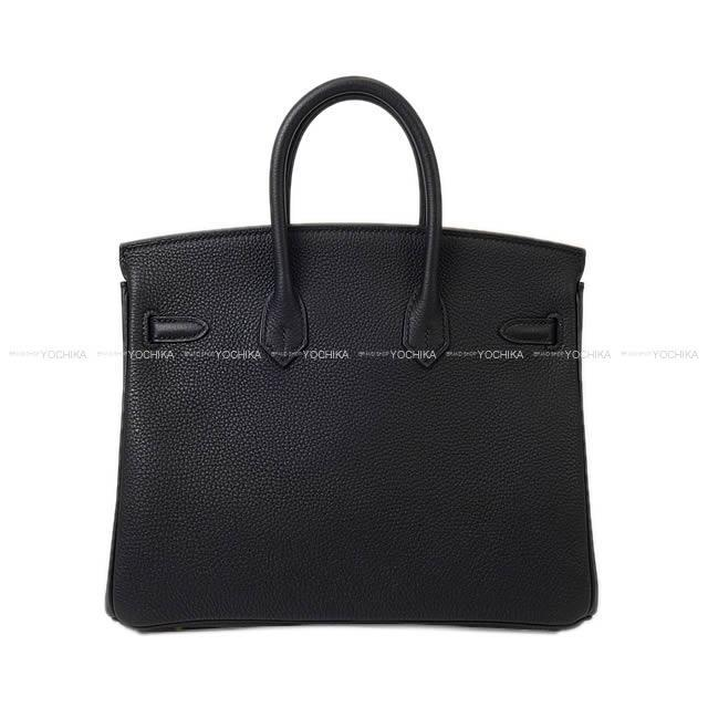 HERMES エルメス ハンドバッグ バーキン25 黒(ブラック) トゴ ゴールド金具 新品