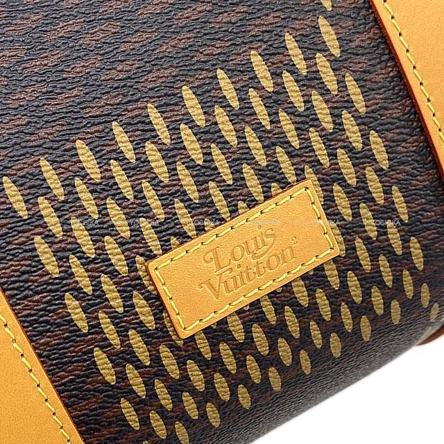 LOUIS VUITTON ルイ・ヴィトン NIGO コラボ ショルダーバッグ キーポル バンドリエール50 N40360 新品