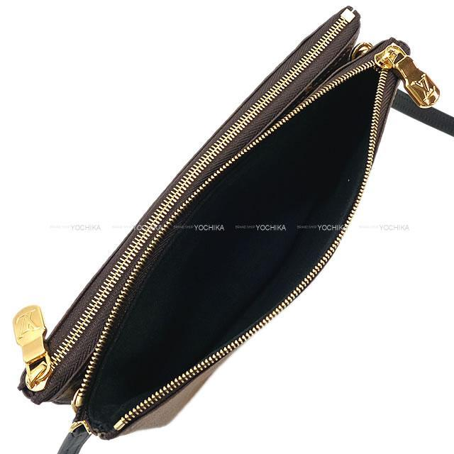 ルイ・ヴィトン ショルダーバッグ ポシェットドゥーブル ジップ モノグラムジャイアントリバース ゴールド金具 M69203 新品