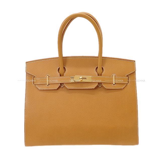 HERMES エルメス ハンドバッグ バーキン30 セリエ 外縫い ナチュラルサブレ ナチュラルグレネ ゴールド金具 新品