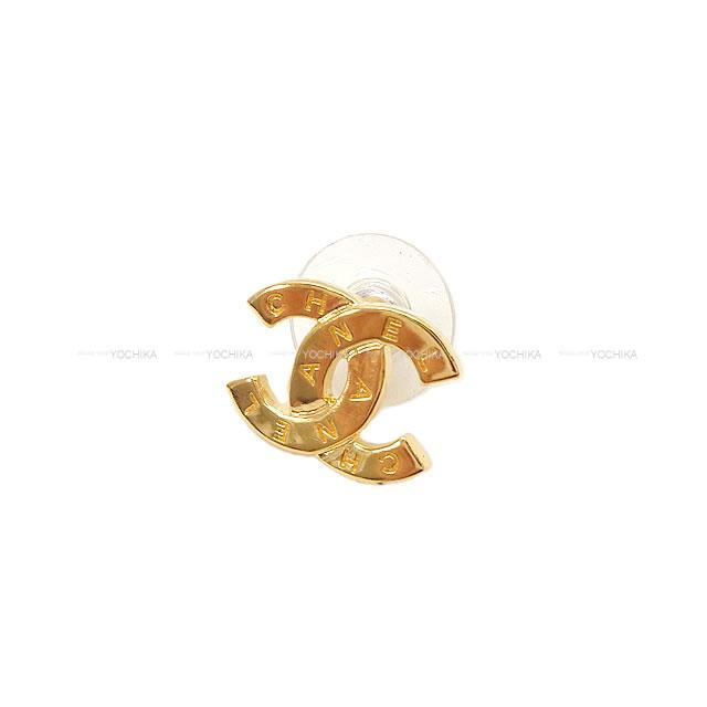 シャネル ラインストーン ココマーク ハート スター ピアス シャンパンゴールド金具 AB3807 新品