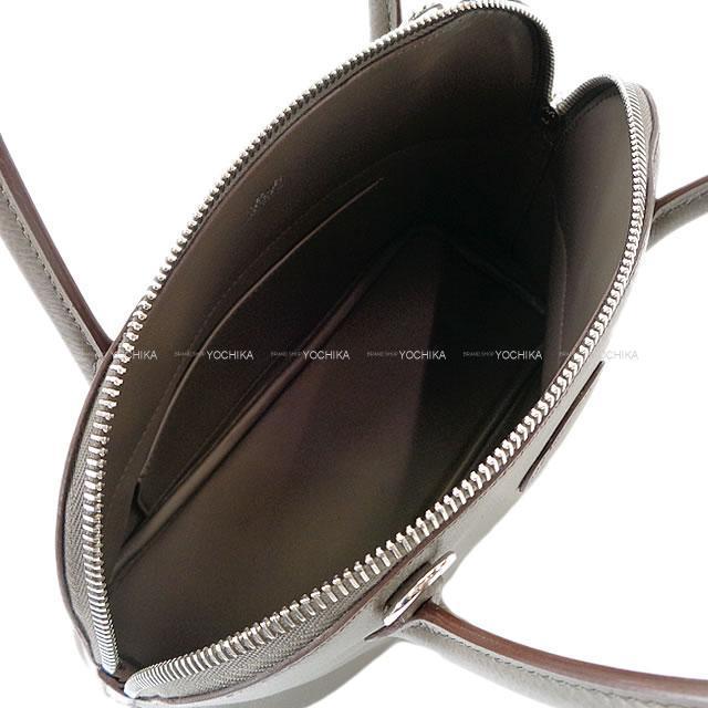 HERMES エルメス ハンドバッグ ボリード27 エタン エプソン シルバー金具 新品未使用