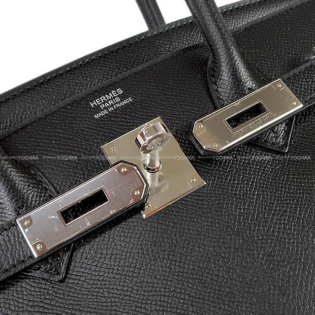 HERMES エルメス バーキン30 ハンドバッグ 黒(ブラック) エプソン シルバー金具 Y刻印 新品