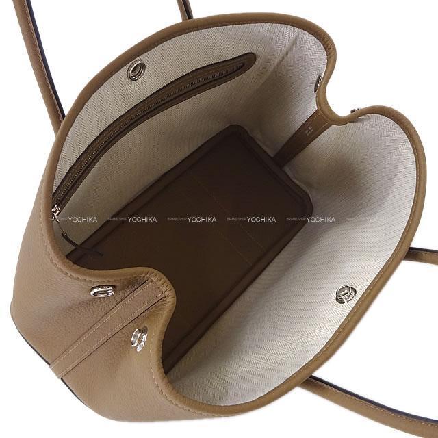 エルメス トートバッグ ガーデンパーティ 30 TPM ベージュドゥワイマール ヴァッシュカントリー 新品