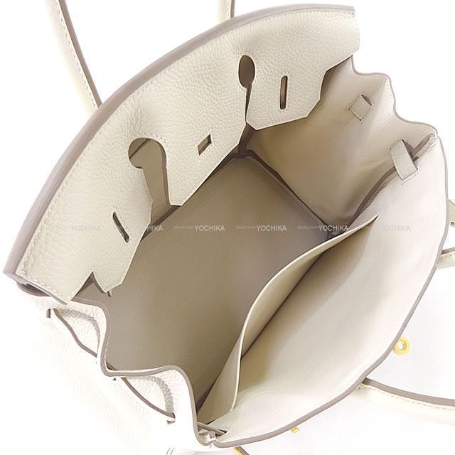 HERMES エルメス ハンドバッグ バーキン30 クレ トリヨン ゴールド金具 新品未使用