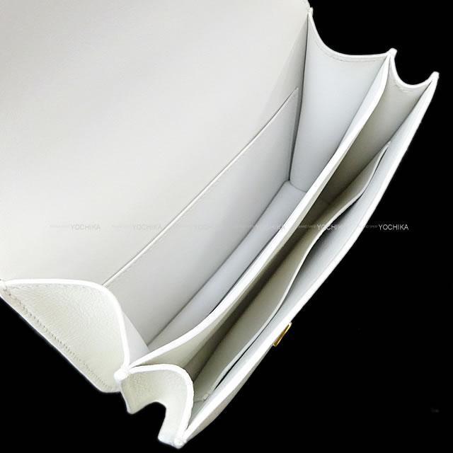 HERMES エルメス ショルダーバッグ コンスタンス 3 ミニ 18 白(ホワイト) 新品同様【中古】