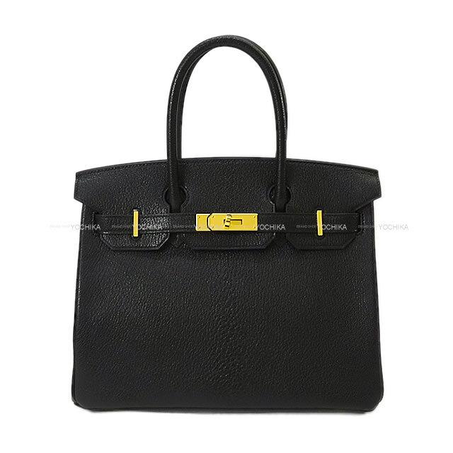 HERMES エルメス ハンドバッグ バーキン30 黒(ブラック) シェーブルコロマンデル ゴールド金具 新品