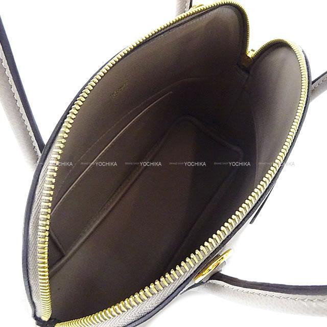 HERMES エルメス ショルダーバッグ ボリード27 グリアスファルト エプソン ゴールド金具 展示新品