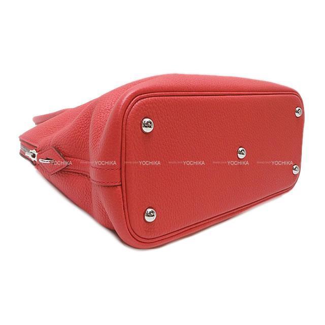 HERMES エルメス ハンドバッグ ボリード31 ブーゲンビリア トリヨン シルバー金具 展示新品