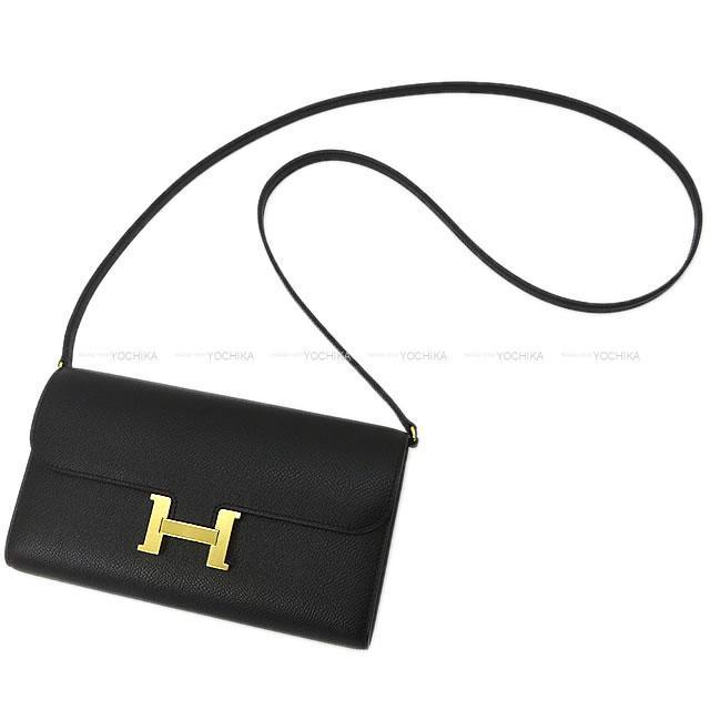 HERMES エルメス 長財布 コンスタンス ウォレット トゥーゴー ロング 黒(ブラック) エプソン ゴールド金具 新品