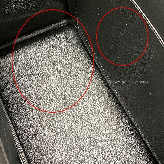 HERMES エルメス ハンドバッグ バーキン40 黒(ブラック) トゴ シルバー金具 展示新品