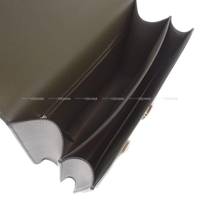 HERMES エルメス ショルダーバッグ コンスタンス3 24 MM エタン エバーカラー シルバー金具 新品