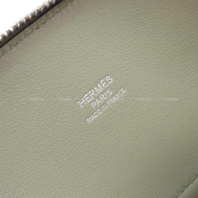 HERMES エルメス ショルダーバッグ ボリード 27 セージ(ソーゼ) スイフト シルバー金具 新品未使用