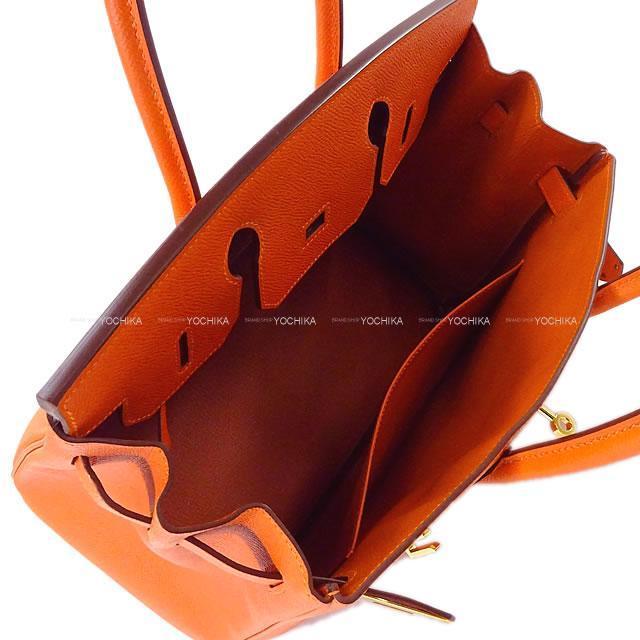 HERMES エルメス ハンドバッグ バーキン30 フーオレンジ エプソン ゴールド金具 新品未使用
