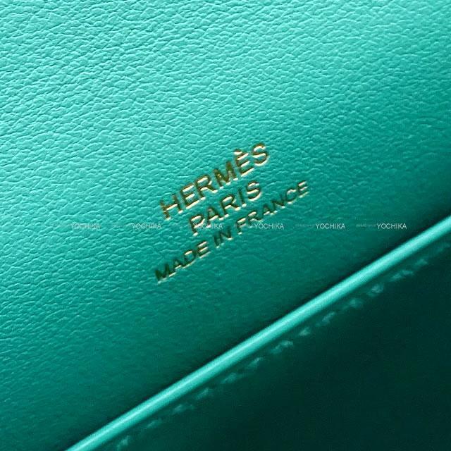 HERMES エルメス ハンドバッグバッグ ポシェットケリー ヴェールヴェロン スイフト ゴールド金具 新品未使用