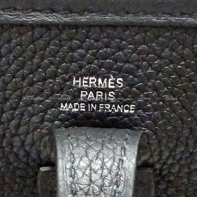 HERMES エルメス ショルダーバッグ エブリン エヴリン 16 TPM サングル ジグザグ 黒(ブラック) 新品