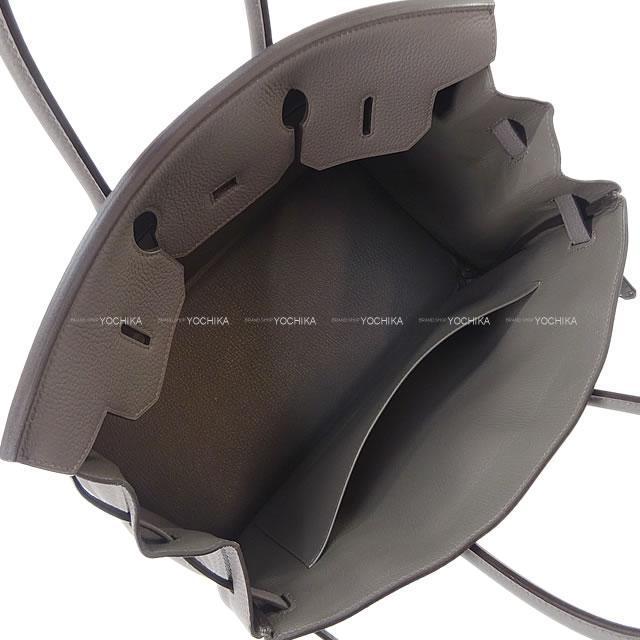 HERMES エルメス ハンドバッグ バーキン35 エタン トゴ シルバー金具 A刻印 新品未使用