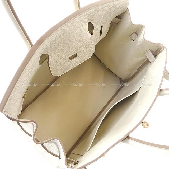 HERMES エルメス ハンドバッグ バーキン30 クレ トゴ ローズゴールド金具 新品