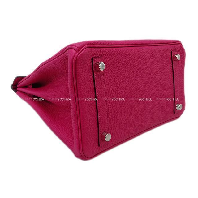 HERMES エルメス ハンドバッグ バーキン25 ローズメキシコ トゴ シルバー金具 新品