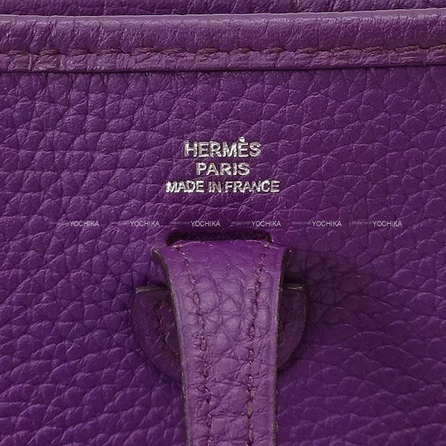 HERMES エルメス ショルダーバッグ ミニ エブリン エヴリン 16 TPM 黒 (ブラック) トリヨン 新品同様【中古】