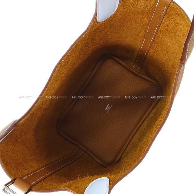HERMES エルメス ハンドバッグ ピコタンロック エクラ 18 PM 黒(ブラック)Xトフィー トリヨンXスイフト 新品