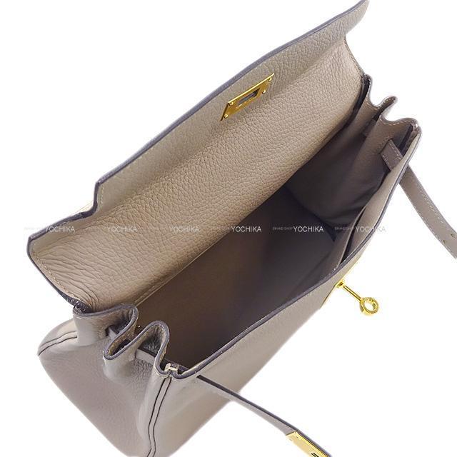 HERMES エルメス ハンドバッグ ケリー28 内縫い 白(ホワイト) トリヨン ゴールド金具 新品