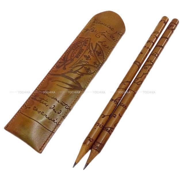 Berluti ベルルッティ ケース付き カリグラフィ 鉛筆セット2本