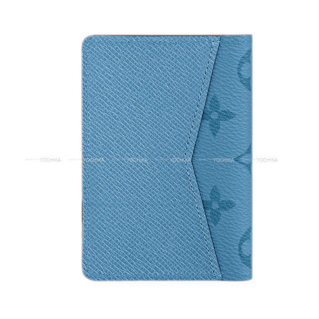 """ルイ・ヴィトン カードケース """"オーガナイザー ドゥ ポッシュ"""" デニム モノグラム/タイガレザー M30760 新品"""
