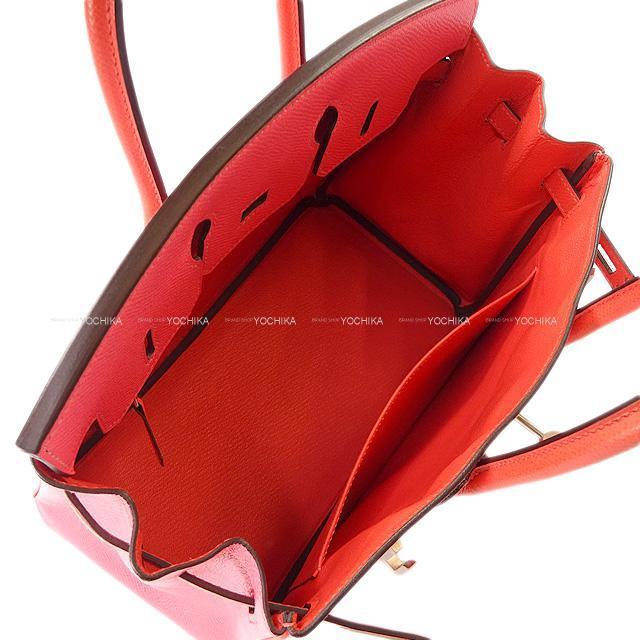 HERMES エルメス バーキン25 スペシャルオーダー ローズアザレ/ルージュピヴォンヌ エプソン 新品同様【中古】