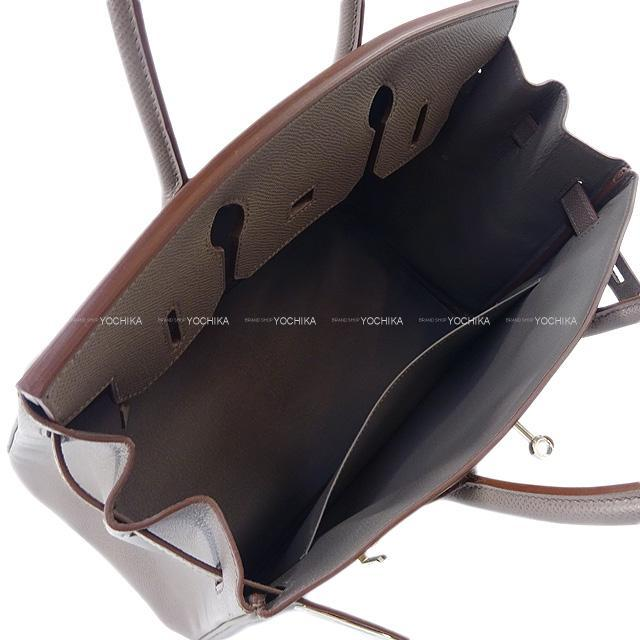 HERMES エルメス ハンドバッグ バーキン30 エタン エプソン シルバー金具 新品同様【中古】