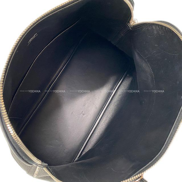 HERMES エルメス ハンドバッグ ボリード35(37) 黒(ブラック) トリヨンクレマンス シルバー金具 SAランク【中古】