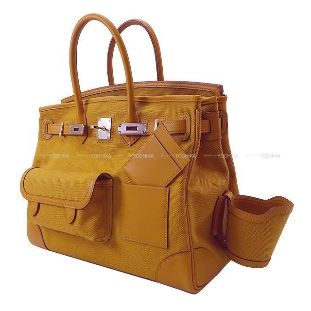 エルメス ハンドバッグ バーキン35 トレサージュ・ドゥ・キュイール ゴールド/ブルーデュノール スイフト/エプソン 新品
