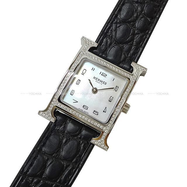 HERMES エルメス レディース 腕時計 Hウォッチ PM