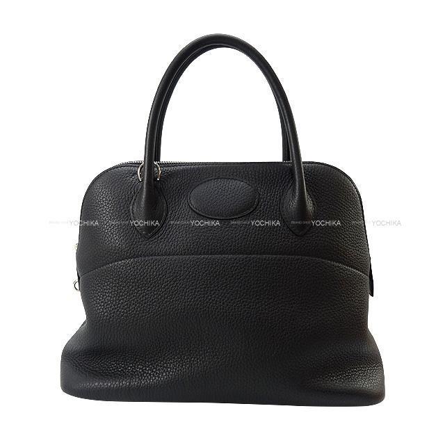 HERMES エルメス ハンドバッグ ボリード31 黒(ブラック) トリヨン シルバー金具 新品未使用