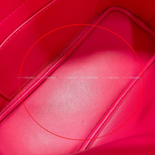 HERMES エルメス ショルダーバッグ ボリード27 ローズパープル スイフト シルバー金具 展示新品