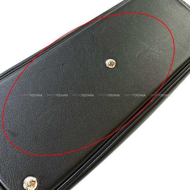 HERMES エルメス ショルダーバッグ ボリード27 黒 スイフト シルバー金具 新品