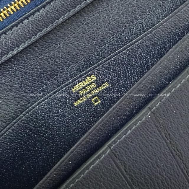 HERMES エルメス 財布 ベアン クラシック 黒(ブラック) クロコダイルアリゲーター