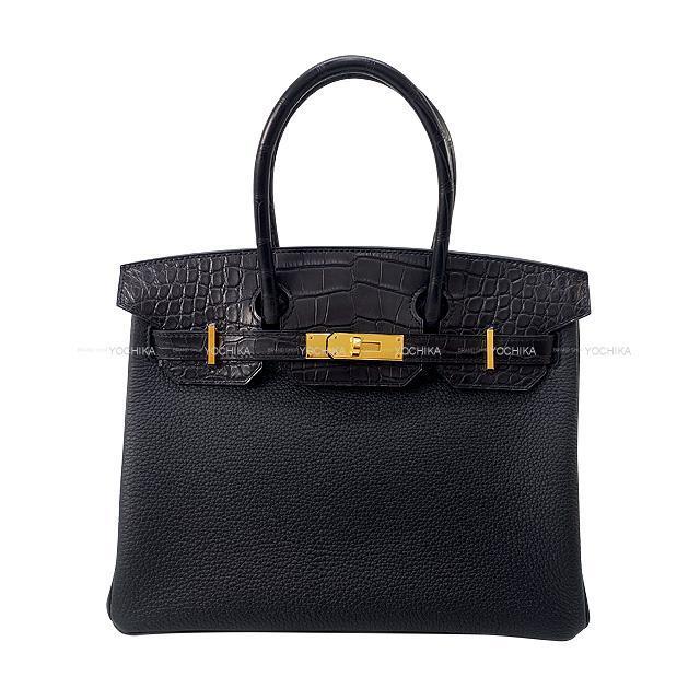 HERMES エルメス ハンドバッグ バーキン30 タッチ 黒(ブラック)  新品