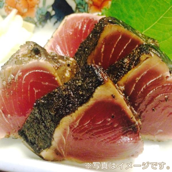 鹿児島・枕崎産 炭火焼かつおのたたき(ブロック・約1kg)