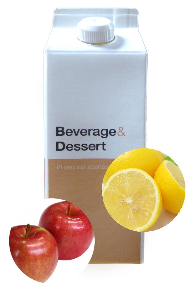 ヨコ井のレモン&りんご酢 500ml