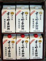 ギフト リキッドアイス1リットル無糖6本セット