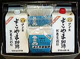 ギフト リキッドアイス1リットル無糖2本+簡単ダッチコーヒー2袋(1袋3ケ入)セット