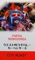 パプアニューギニア ウエストHLワギバレー『カーペンタース』(シティロースト=中煎り)200g