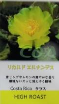 『リカルド エルナンデス(コスタリカ)』(ハイロースト=中浅煎り) 200g