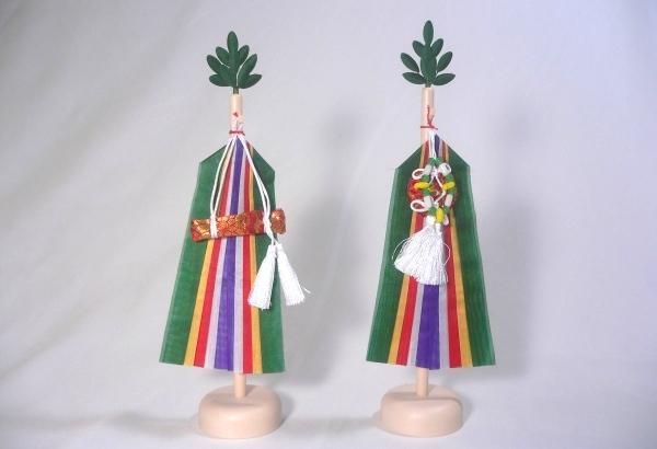 【真榊】(小豆)高さ23cm