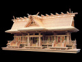 高級神棚入母屋三社オリジナル高級神殿【母屋神明】五社