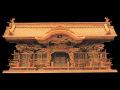 超高級屋久杉神棚切妻五社オリジナル高級屋久杉神殿【屋久龍】