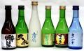 土佐の地酒、「大吟醸酒、吟醸酒」呑み比べ300㎖ 6本セット