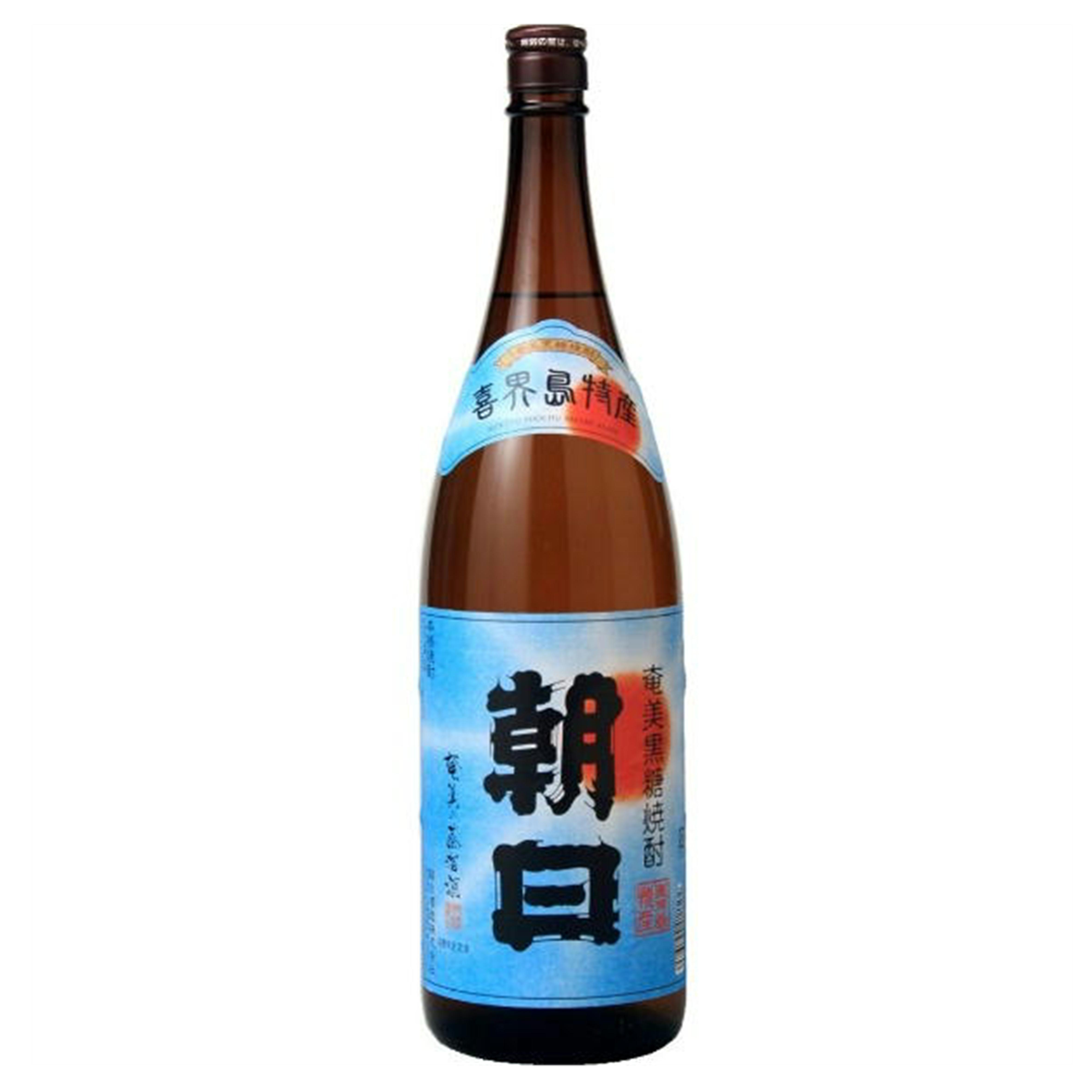 朝日 黒糖焼酎 25度